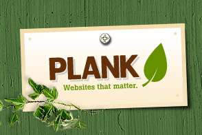 Image showing the look of Plank's new website