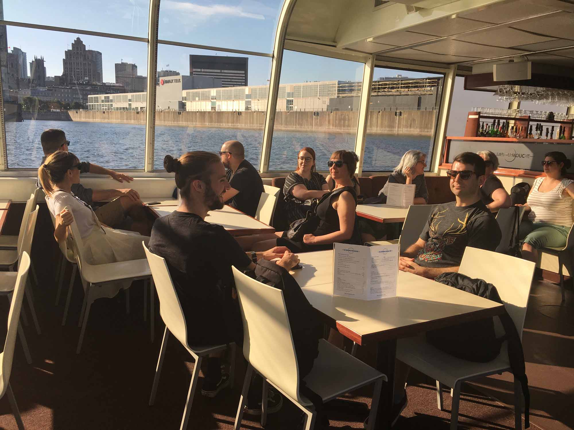 The Plank Team Relaxing on a Cruise in the Old Port