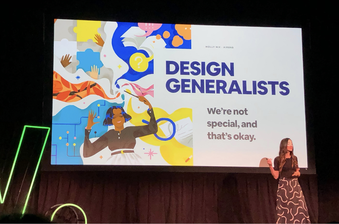 Molly Nix presenting at Digital Thinkers conference NYC 2019
