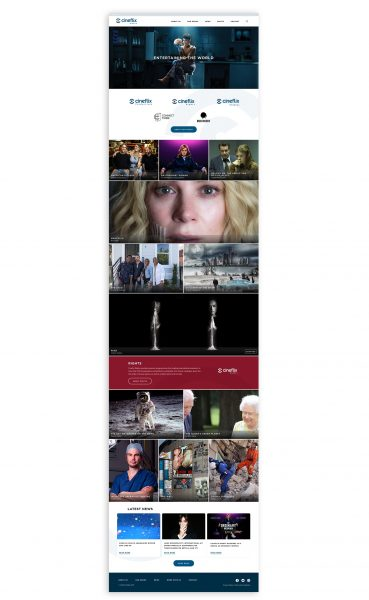Cineflix Homepage